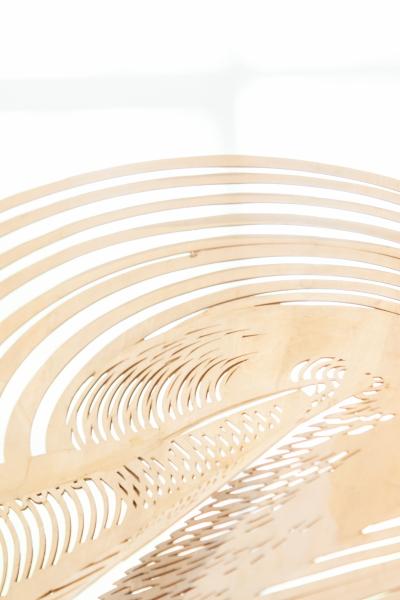Studio aniss Wooden hat detail